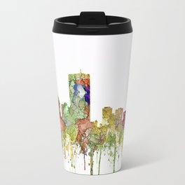 Boston, Massachusetts Skyline SG - Faded Glory Travel Mug