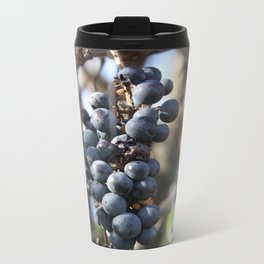 Wild Grapes Metal Travel Mug