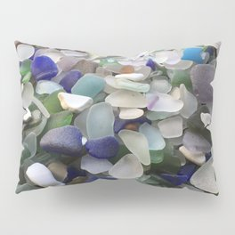 Sea Glass Assortment 5 Pillow Sham