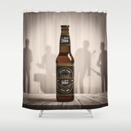 Let it Beer Shower Curtain
