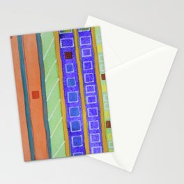 Modern Building Facade Stationery Cards