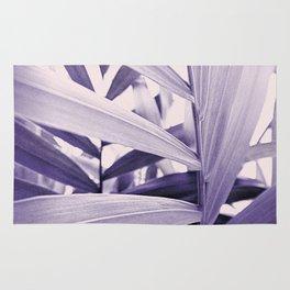 Purple Palm Rug