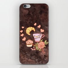 Romantic breakfast   iPhone & iPod Skin