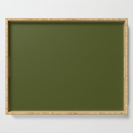 Army Green Serving Tray