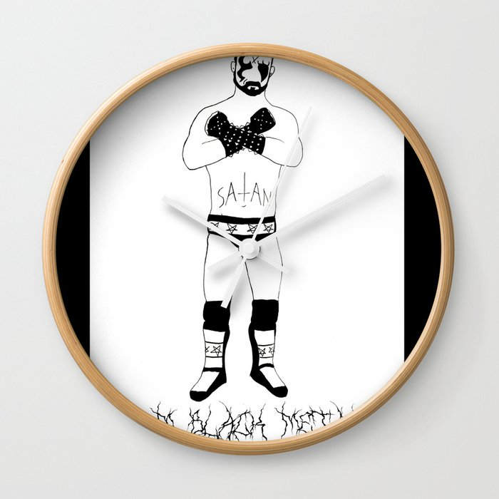 CM Black Metal Wall Clock