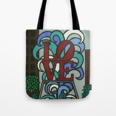 pop LOVE park Tote Bag