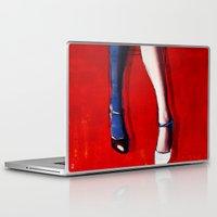 legs Laptop & iPad Skins featuring Legs by Ed Pires