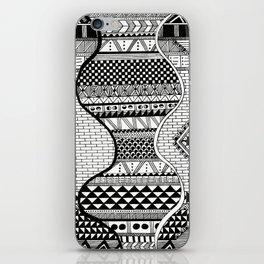 Wavy Geometric Patterns iPhone Skin