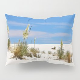 Soap Yucca At White Sand Pillow Sham