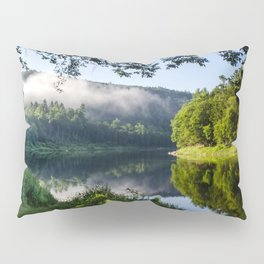 The River's Reflection Pillow Sham