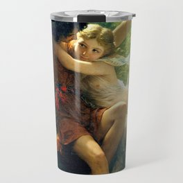 Spring by Pierre Auguste Cot Travel Mug