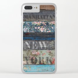 Souls of Manhattan Clear iPhone Case