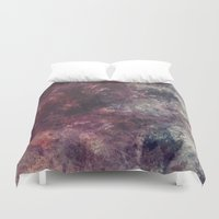 grunge Duvet Covers featuring acrylic grunge by VanessaGF