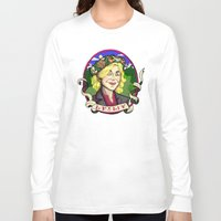 leslie knope Long Sleeve T-shirts featuring Leslie Knope by Rachel M. Loose