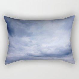 Blue clouds Rectangular Pillow