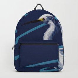 Egret on the Bayou Backpack