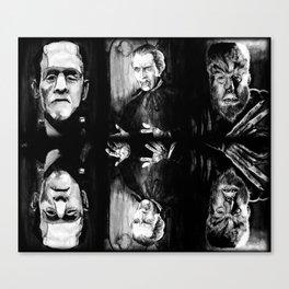 Horror Blankie Canvas Print