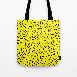 Memphis pattern 35 Tote Bag