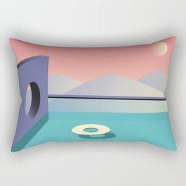 Calm pool  Rectangular Pillow