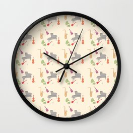 Jazz pack Wall Clock