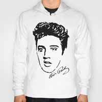 elvis Hoodies featuring Elvis! by John Medbury (LAZY J Studios)