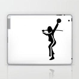 #TheJumpmanSeries, The Bride from Kill Bill Laptop & iPad Skin