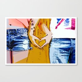 The Connection - Moments of our Love Story Canvas Print
