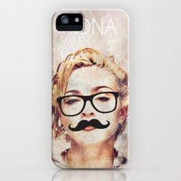 MDNA hipster by ilya konyukhov (c) iPhone Case