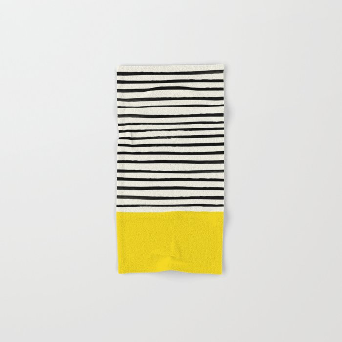 Sunshine x Stripes Hand & Bath Towel