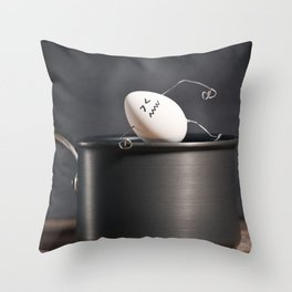 It' Too Hot Throw Pillow