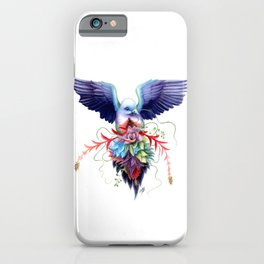Pink-necked Green Fruit Dove iPhone Case