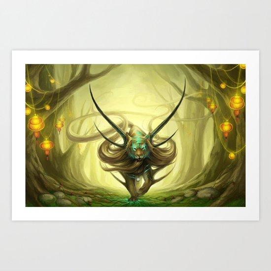 """God of Evanescence"" Art Print"