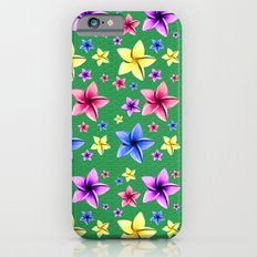 Flower Crazy Slim Case iPhone 6s