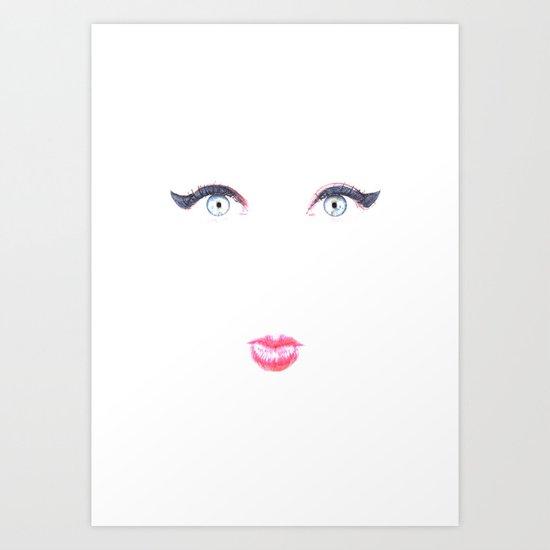 Bleached Art Print