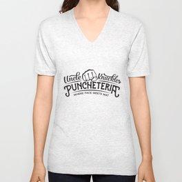 Uncle Knuckles Puncheteria Unisex V-Neck