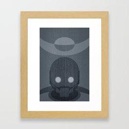 Rogue Minimalist Framed Art Print