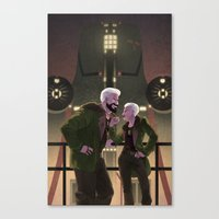 pacific rim Canvas Prints featuring Cherno Alpha - Pacific Rim by Stephanie Kao