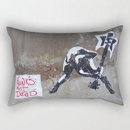 Funk's not Dead Rectangular Pillow