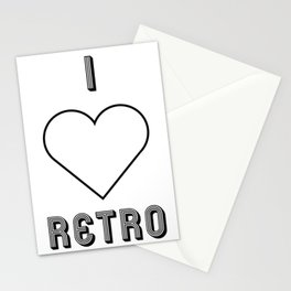 I love retro Stationery Cards
