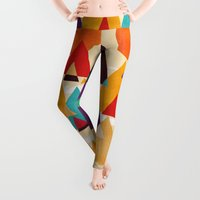 mountains Leggings featuring Let's visit the mountains by Picomodi