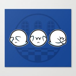Boo No Evil Canvas Print
