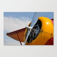 plane Canvas Prints featuring Plane by Mark Giarrusso