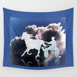 Chariots of Fire - Harness Racing Wall Tapestry