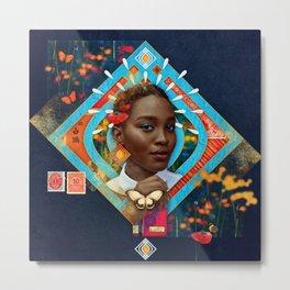 Thrive :: Fine Art Collage Metal Print