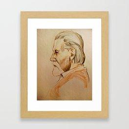 Gruff Framed Art Print