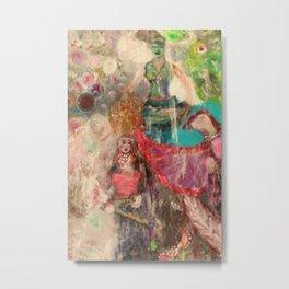 Mongol Queen Metal Print