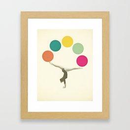 Gymnastics II Framed Art Print