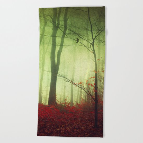 mysteriOns Beach Towel