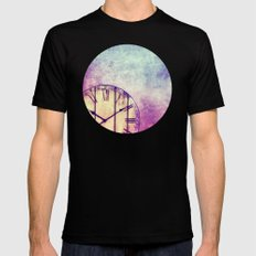 AS TIME GOES BY MEDIUM Black Mens Fitted Tee