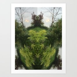 Courageous Art Print